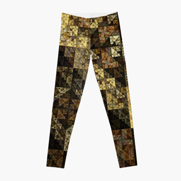 Egyptian Sierpinski pyramid Leggings