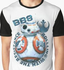 A Droid Rolling Along Graphic T-Shirt