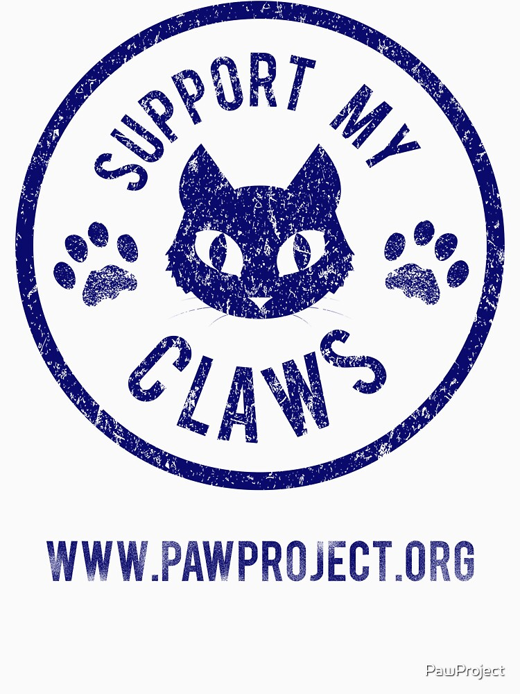 Support My Claws - The Paw Project | Unisex T-Shirt