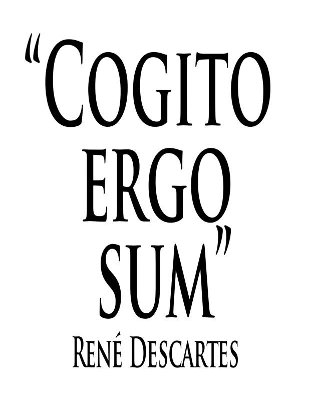 An essay on rene descartess cogito ergo sum