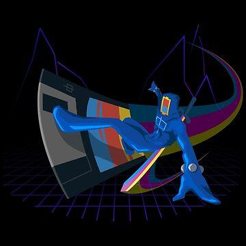 Legendary Digital Hero by JoelAMorgan