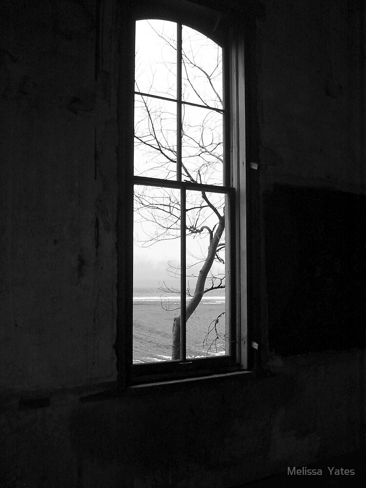 Old School House - windows by Melissa  Ousley