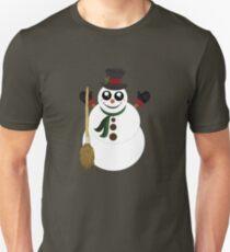 Snowman (4) Unisex T-Shirt