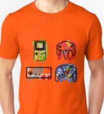 Classic Nintendo Controllers Unisex T-Shirt