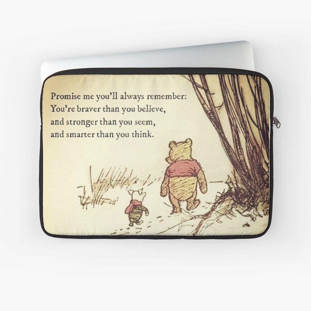 You Are BRAVE Laptop Sleeve