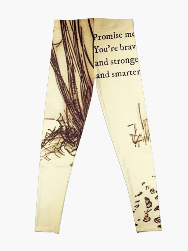 Alternate view of You Are BRAVE Leggings