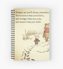 You Are BRAVE Spiral Notebook