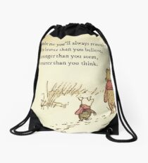 You Are BRAVE Drawstring Bag