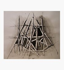 Graphic easel Photographic Print