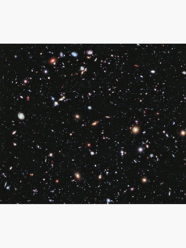 Hubble, COSMOS, NASA, imagen de campo profundo extremo, espacio, constelación, Fornax de TOMSREDBUBBLE