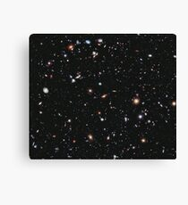 Hubble, COSMOS, Nasa, Extreme Deep Field image, space, constellation, Fornax Canvas Print