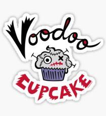 Voodoo Cupcake Sticker