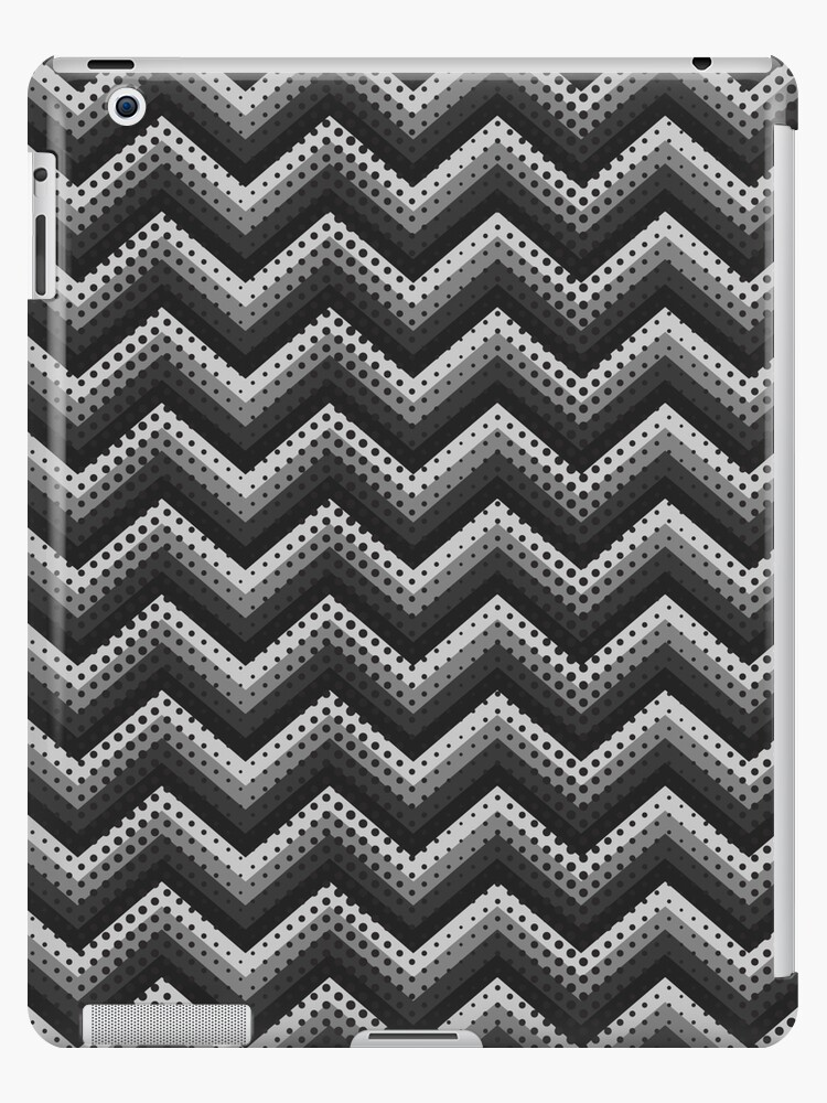Retro Zig Zag Chevron Pattern by MEDUSA GraphicART