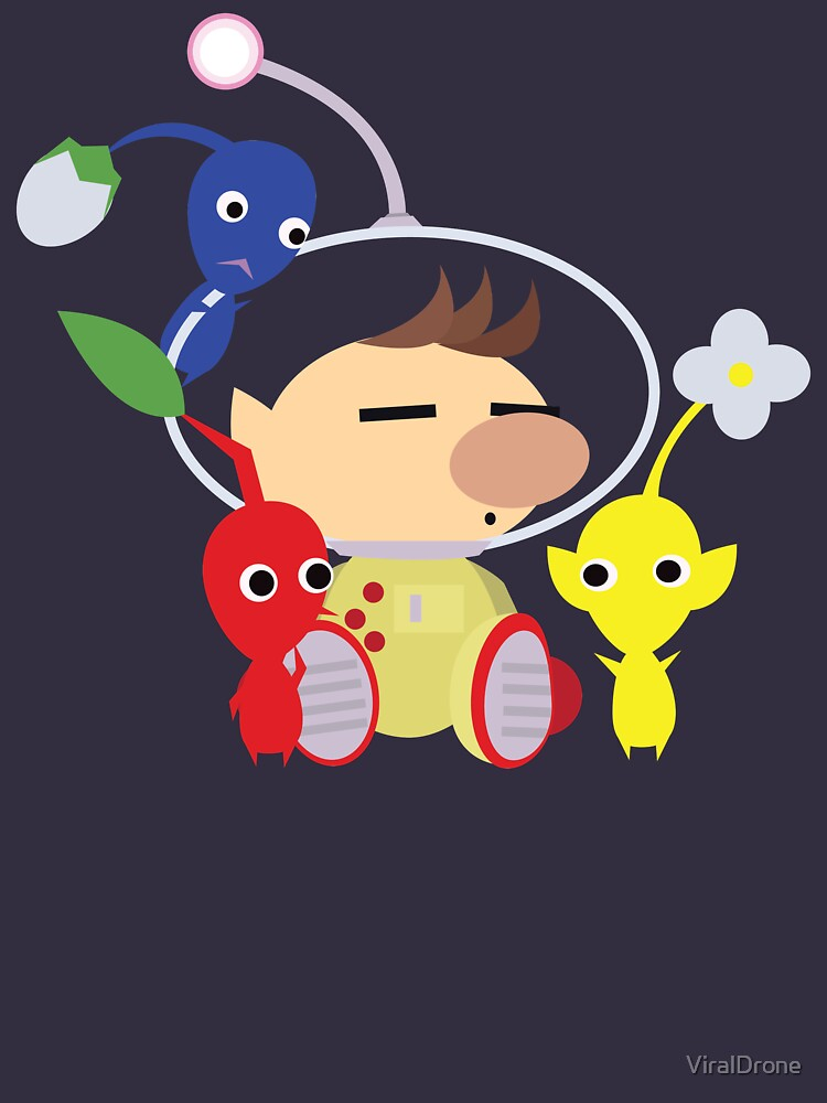Olimar and Pikmin Vector von ViralDrone