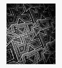 ARCADE MONOCHROME Photographic Print