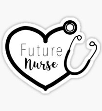 Future Nurse - Scope Sticker