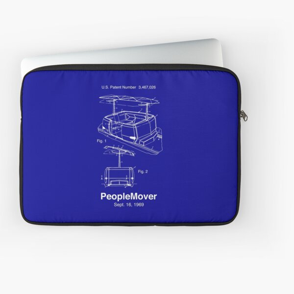 PeopleMover Patent People Mover Laptop Sleeve