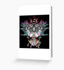 Femme Fatality Greeting Card