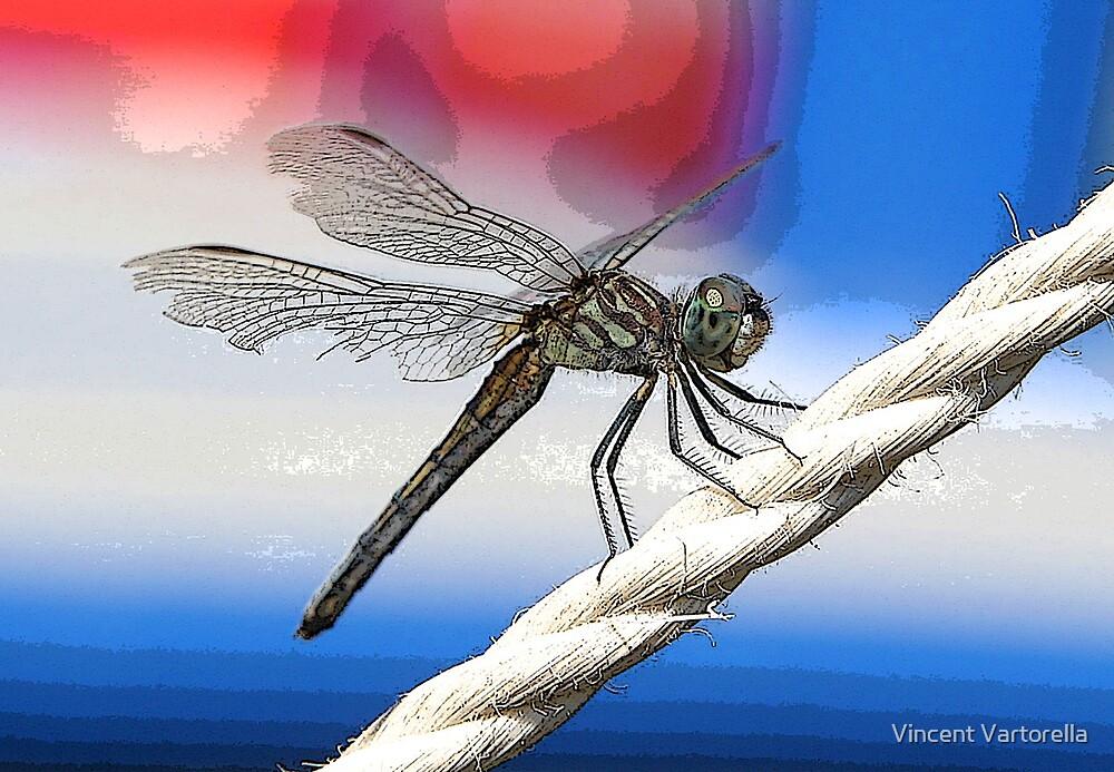 Dragon Fly Poster by Vincent Vartorella