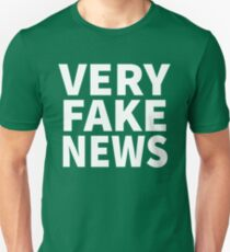 Very Fake News Shirt Unisex T-Shirt