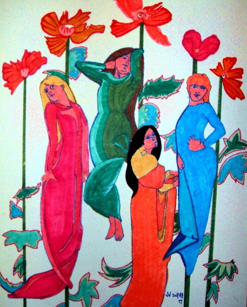 Ladies 2 by Jamie Winter-Schira