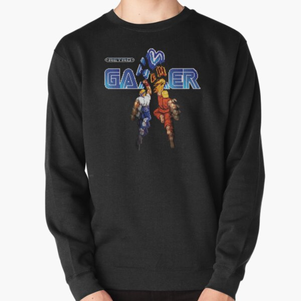 Retro Gamer Pullover Sweatshirt