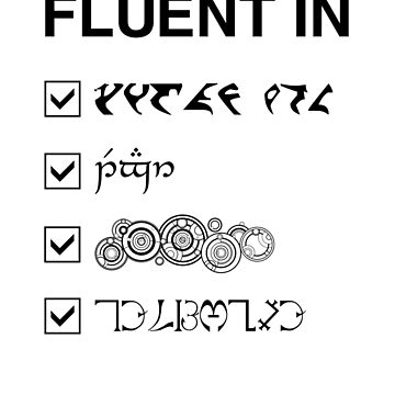 Fluent in... 2 by silentrebel