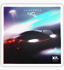 Warpzone Cover Art Sticker