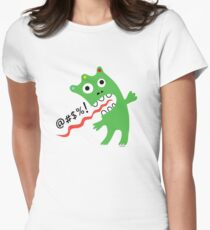 Critter Expletive  Women's Fitted T-Shirt