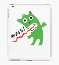 Critter Expletive  iPad Case/Skin