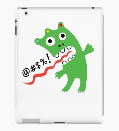 Critter Expletive  iPad Case/Skin