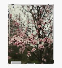 Faded pink blossom iPad Case/Skin