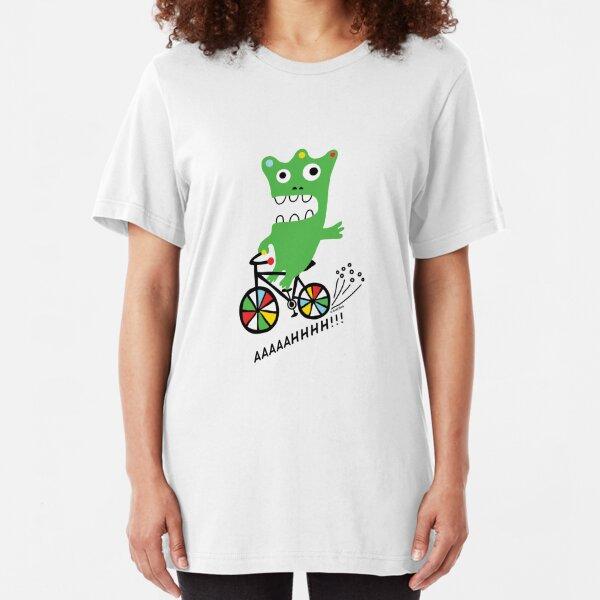 Critter Bike  Slim Fit T-Shirt