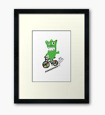 Critter Bike  Framed Print