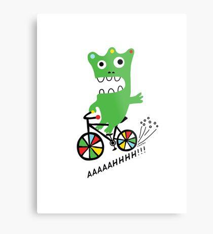 Critter Bike  Metal Print