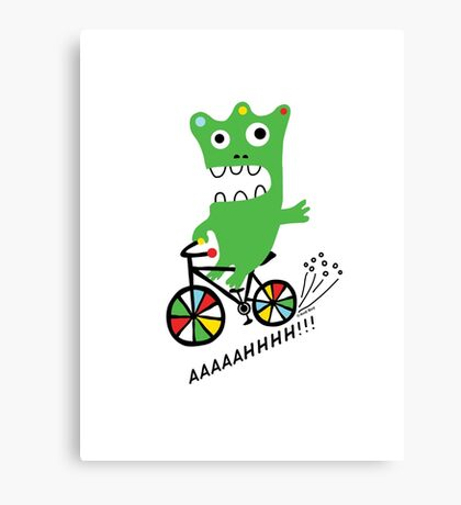 Critter Bike  Canvas Print