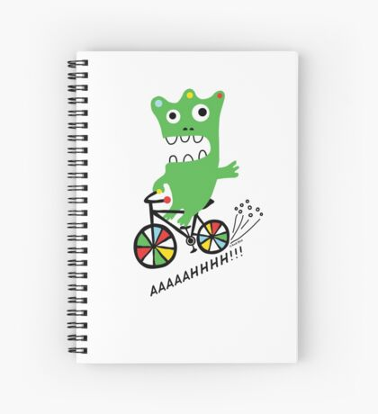 Critter Bike  Spiral Notebook