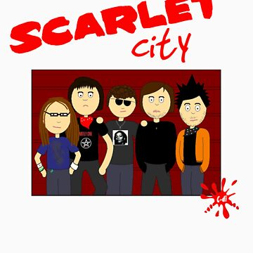 Scarlet City by CarlaD