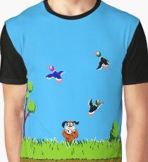 Duck Hunt Retro Video Game Art Nintendo Graphic T-Shirt