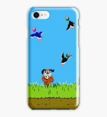 Duck Hunt Retro Video Game Art Nintendo iPhone Case/Skin