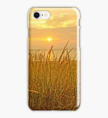 Sunset at Montague Beach iPhone Case/Skin