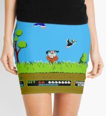 Duck Hunt Retro Video Game Art Nintendo Mini Skirt