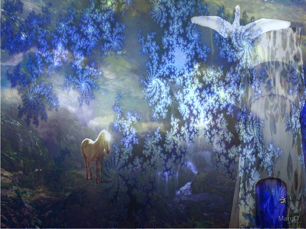 Behind the veil by MaryO