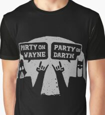 Party On Wayne Graphic T-Shirt