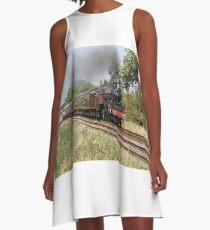steam train A-Line Dress