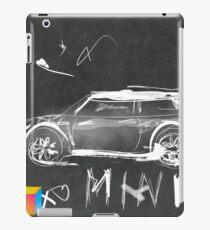 Mini Abstract sketching iPad Case/Skin
