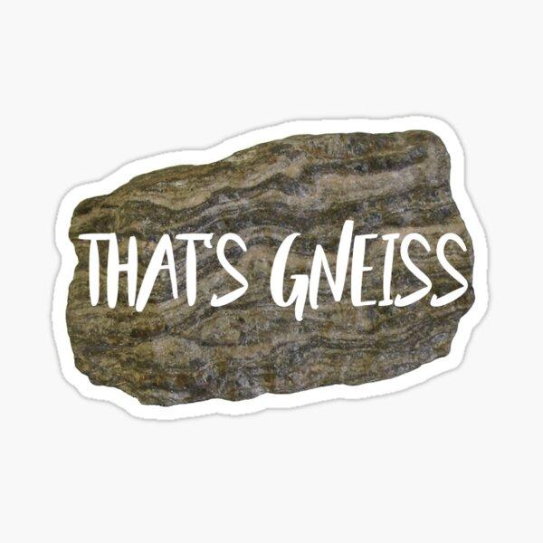 That's Gneiss Sticker