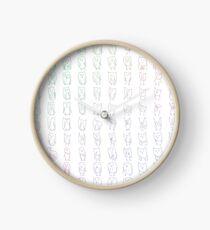 Generative Owls Clock