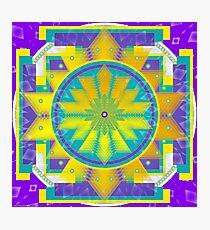 Mandala made for the name KAREN Photographic Print