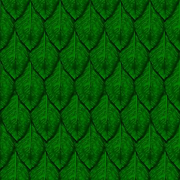 Green leaf dragonscales by Aurora